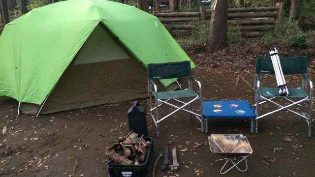 【薪の香りが懐かしい】火を囲む晩秋のお手軽キャンプ【節約コース】アイキャッチ画像