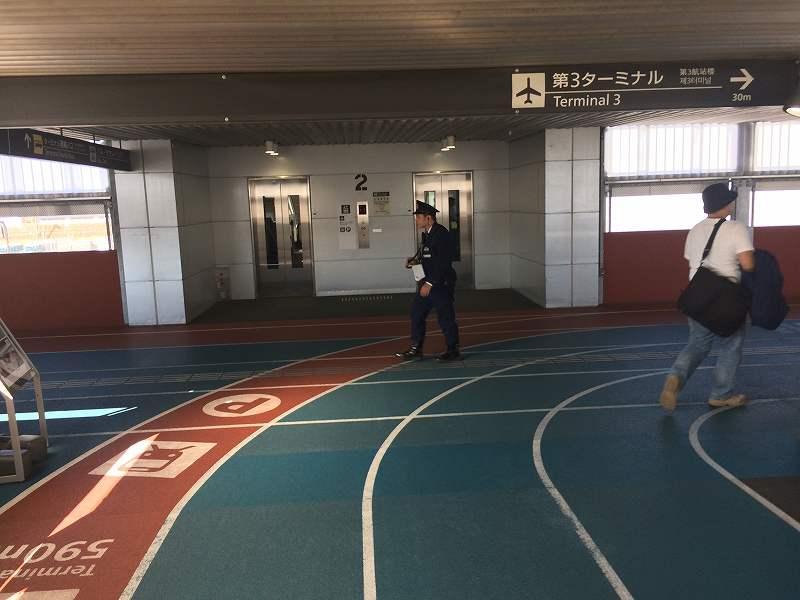 【ジェットスターで行く】青島から鬼の洗濯岩を見て飫肥まで【宮崎】第3ターミナルに向かう