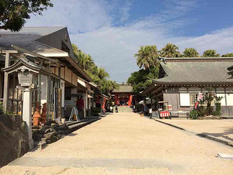 【ジェットスターで行く】青島から鬼の洗濯岩を見て飫肥まで【宮崎】青島神社入口