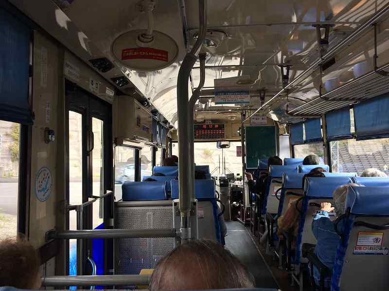 【ジェットスターで行く】青島から鬼の洗濯岩を見て飫肥まで【宮崎】バスの中
