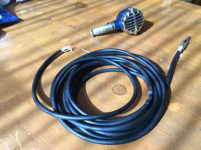 【XLRコネクター修理】マイクのケーブルが取れた【ハンダ付け】1
