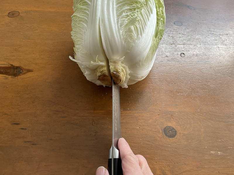 【意外と簡単!】いただいた白菜を漬けてみる【塩分がポイント】3