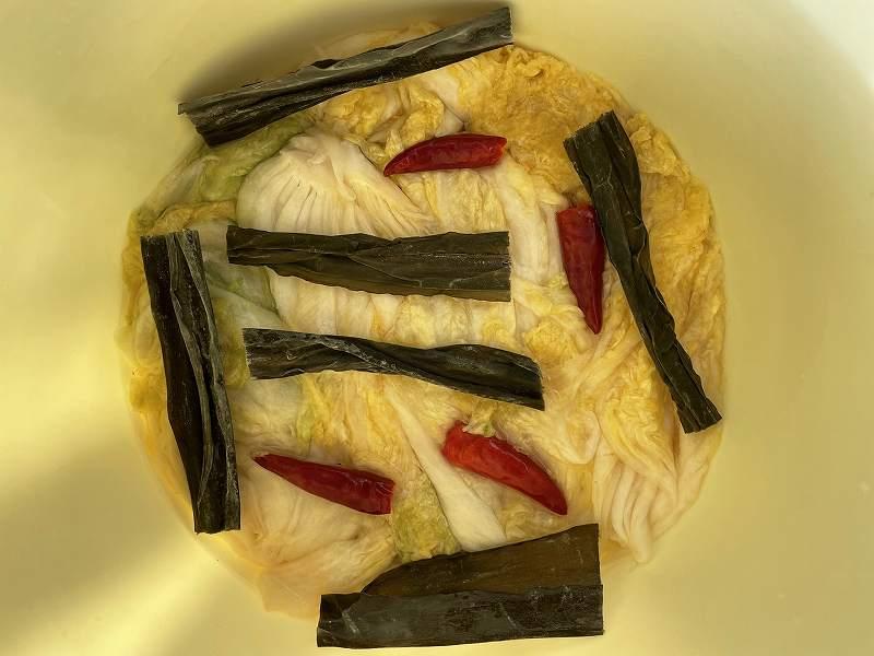 【意外と簡単!】いただいた白菜を漬けてみる【塩分がポイント】25