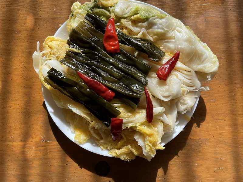 【意外と簡単!】いただいた白菜を漬けてみる【塩分がポイント】27