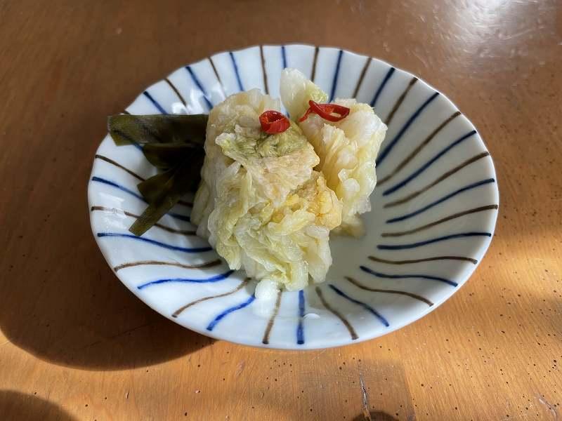 【意外と簡単!】いただいた白菜を漬けてみる【塩分がポイント】29
