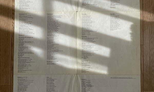 【高校以来】久しぶりにホワイトアルバムを開けてみた!【LP版】3