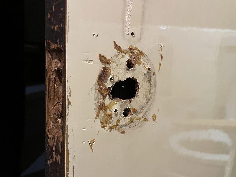 【DIY】実家のトイレのドアノブが壊れてしまった!【簡単修理】19